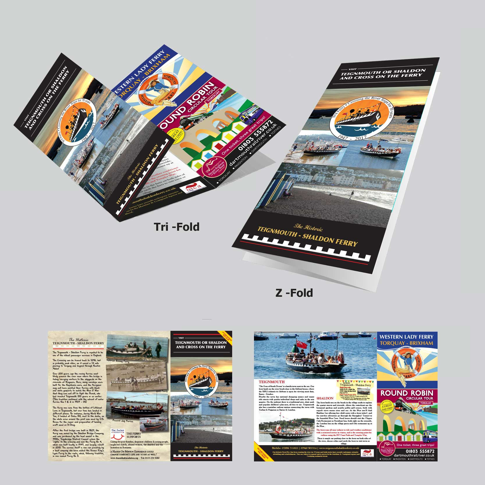 Printing on tri fold poster board